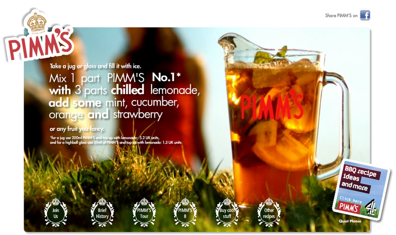 The brandgym blog pimms 39 rejuvenation drives growth for What to mix with pimms