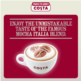 Proud to Serve Costa