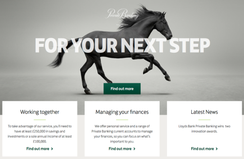 Lloyds private Banking